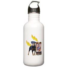 Share A Beer With Your Rottweiler Water Bottle