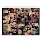 Love Ferrets First Edition - Wall Calendar