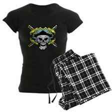 Pirate Skull and Swords 3 Pajamas