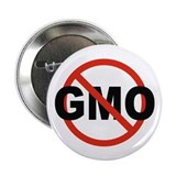 "No GMO! 2.25"" Button (10 pack)"