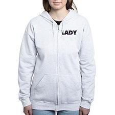 Lady Zip Hoodie