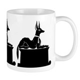 Jackal On Shrine Mug
