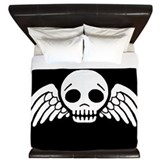 winged-skull_bw_15x18.png King Duvet