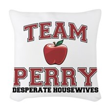 Team Perry Woven Throw Pillow