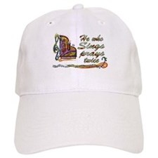 He Who Sings Prays Twice Baseball Cap