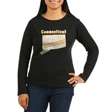 Vintage Connecticut Women's Long Sleeve Dark Tee