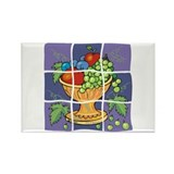 Dellarobbia Tile Mural Rectangle Magnet