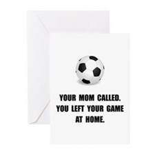 Soccer Game At Home Greeting Cards (Pk of 10)