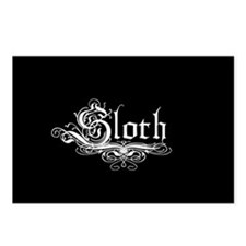 7 Sins Sloth Postcards (Package of 8)