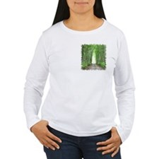 Cathedral in Road Long Sleeve T-Shirt