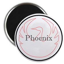 Phoenix Badge Magnet