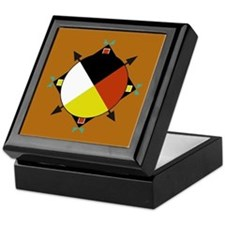 Cherokee Four Directions Keepsake Box