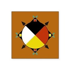 Cherokee Four Directions Sticker