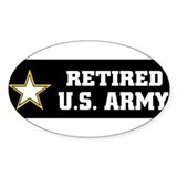armyretired Decal