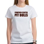 PIT BULLS Women's White T