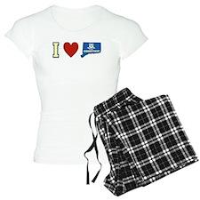 I Love Connecticut pajamas