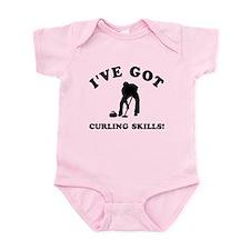 I've got Curling skills Infant Bodysuit