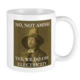 Not Like the Amish Quaker Tasse