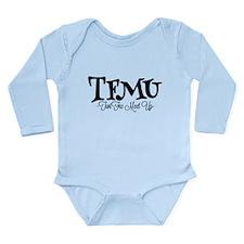 TFMU Official B&W Logo Body Suit