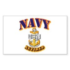 NAVY - SCPO - Retired Decal