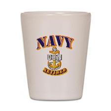 NAVY - SCPO - Retired Shot Glass