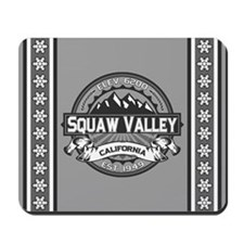 Squaw Valley Grey Mousepad