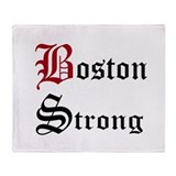 Boston strong  blankets Fleece Blankets