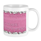 "Jane Eyre ""Flirting"" Quote Coffee Mug"