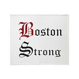 Boston strong  blankets Fleece Blankets