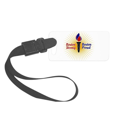 Boston Strong, Boston Proud Torch Luggage Tag