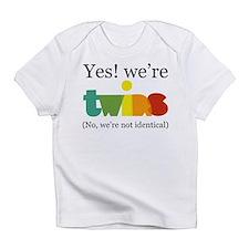 Cute Twin Infant T-Shirt