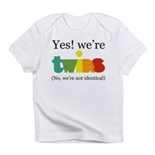 Cute Twin Infant T-Shirt