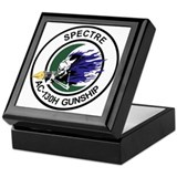AC-130H Spectre Keepsake Box