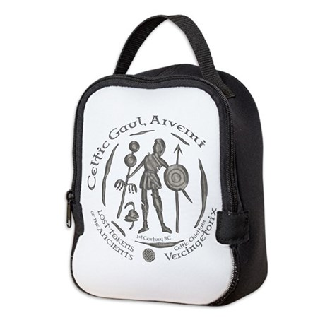 Celtic Chieftain Coin Neoprene Lunch Bag