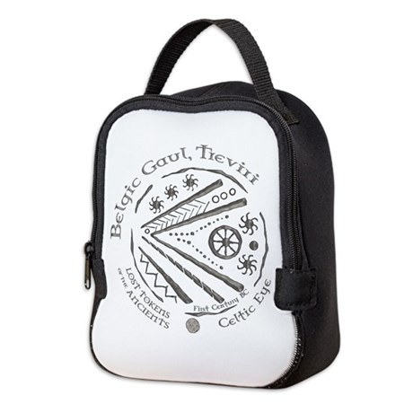 Celtic Eye Coin Neoprene Lunch Bag