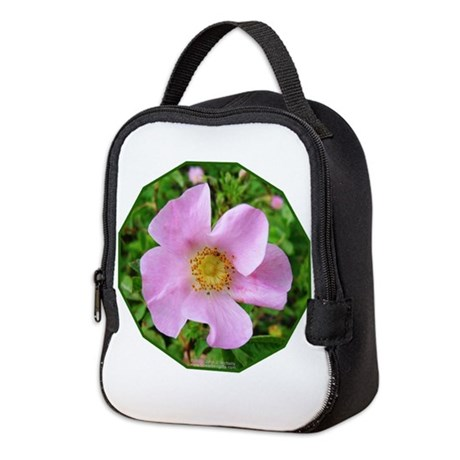 California Wild Rose Neoprene Lunch Bag