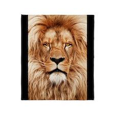 Lion - The King Throw Blanket