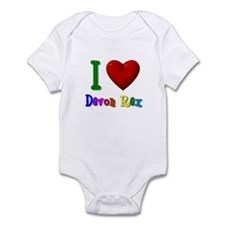 """I Love Devon Rex"" Infant Onesie"