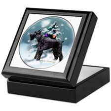 Giant Schnauzer Christmas Keepsake Box