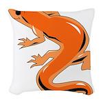 Newt Woven Throw Pillow