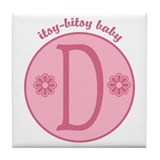 Baby D  Tile Coaster