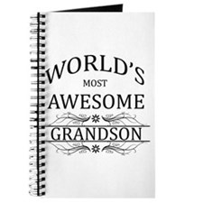 World's Most Awesome Grandson Journal
