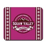 Squaw Valley Raspberry Mousepad