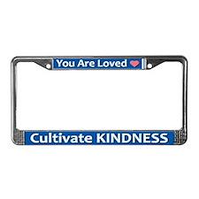 Loved License Plate Frame