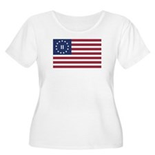 Flag of the Second American Revolution Plus Size T