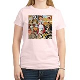 Vintage Nurse Collage T-Shirt