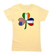 Shamrock of France Girl's Tee