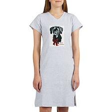 Great Dane Christmas Women's Nightshirt