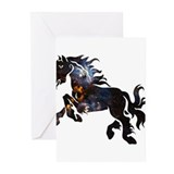 Cosmic Horse Greeting Cards (Pk of 20)