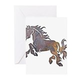 Textured Horse Greeting Cards (Pk of 10)